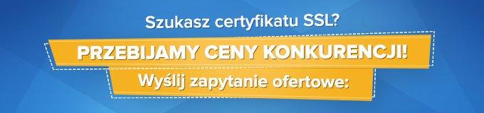 Szukasz certyfikatu SSL?