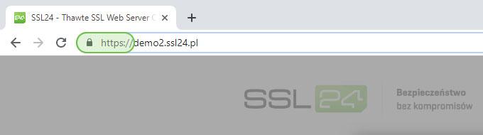 HTTPS i ikona kłódki