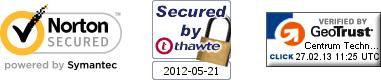 Pieczęcie Symantec, Thawte, GeoTrust